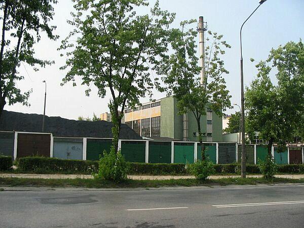 Kotłownia przy ul Szczecińskiej