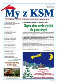 My z KSM grudzień 2014